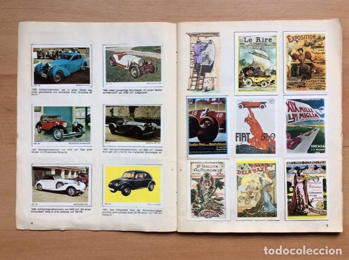 Coleccionismo deportivo: Álbum coches años 60 - míticos Renault R4, R6, R12, Citroen Dyane, Simca 1000, Fiat 500,124 una joya - Foto 2 - 204408606