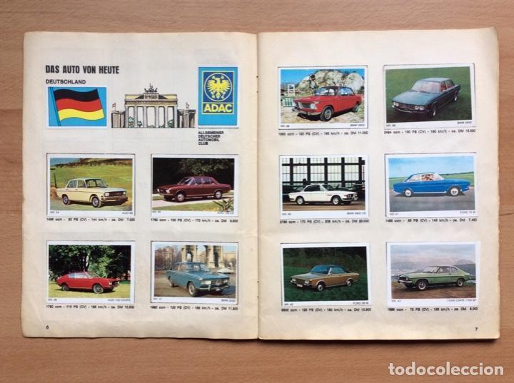 Coleccionismo deportivo: Álbum coches años 60 - míticos Renault R4, R6, R12, Citroen Dyane, Simca 1000, Fiat 500,124 una joya - Foto 3 - 204408606