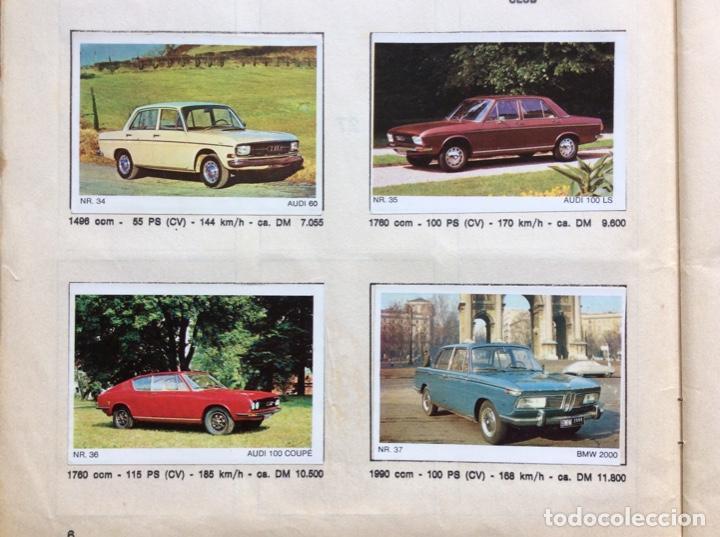 Coleccionismo deportivo: Álbum coches años 60 - míticos Renault R4, R6, R12, Citroen Dyane, Simca 1000, Fiat 500,124 una joya - Foto 4 - 204408606