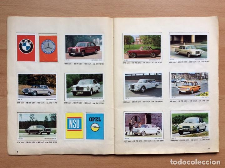 Coleccionismo deportivo: Álbum coches años 60 - míticos Renault R4, R6, R12, Citroen Dyane, Simca 1000, Fiat 500,124 una joya - Foto 5 - 204408606