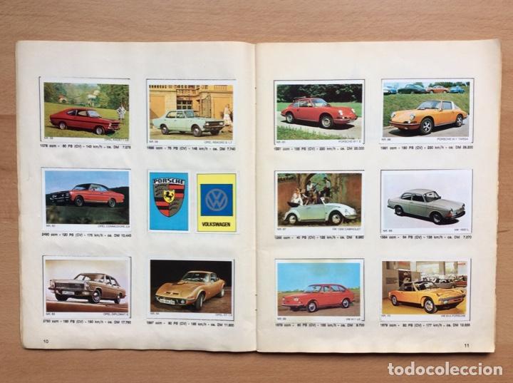 Coleccionismo deportivo: Álbum coches años 60 - míticos Renault R4, R6, R12, Citroen Dyane, Simca 1000, Fiat 500,124 una joya - Foto 6 - 204408606