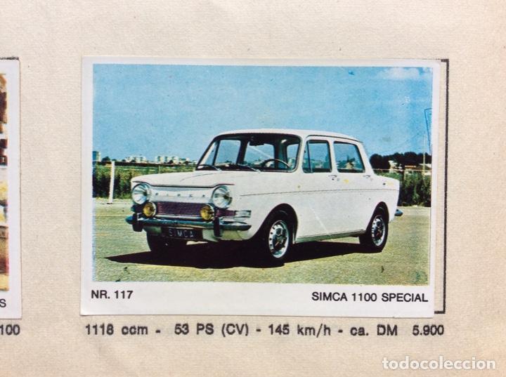 Coleccionismo deportivo: Álbum coches años 60 - míticos Renault R4, R6, R12, Citroen Dyane, Simca 1000, Fiat 500,124 una joya - Foto 10 - 204408606
