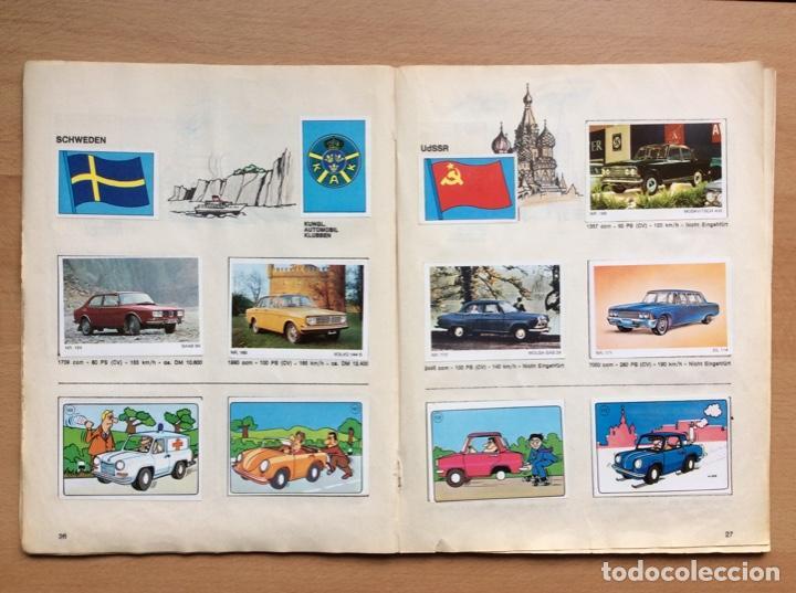 Coleccionismo deportivo: Álbum coches años 60 - míticos Renault R4, R6, R12, Citroen Dyane, Simca 1000, Fiat 500,124 una joya - Foto 12 - 204408606