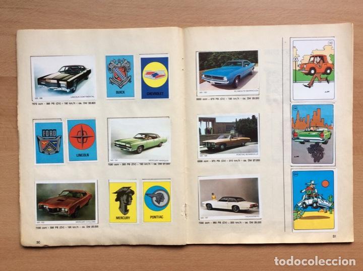 Coleccionismo deportivo: Álbum coches años 60 - míticos Renault R4, R6, R12, Citroen Dyane, Simca 1000, Fiat 500,124 una joya - Foto 13 - 204408606