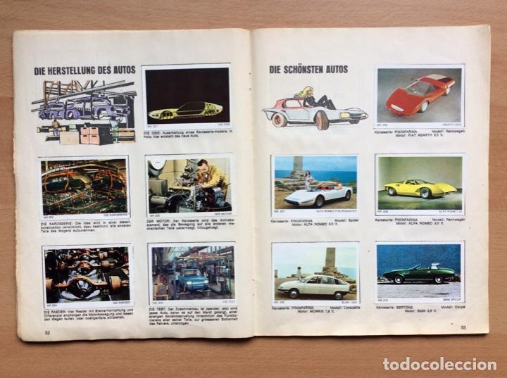 Coleccionismo deportivo: Álbum coches años 60 - míticos Renault R4, R6, R12, Citroen Dyane, Simca 1000, Fiat 500,124 una joya - Foto 14 - 204408606
