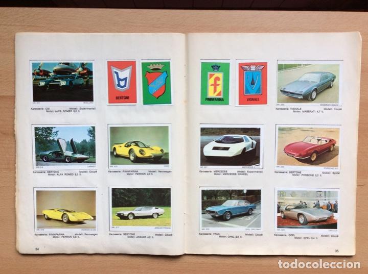Coleccionismo deportivo: Álbum coches años 60 - míticos Renault R4, R6, R12, Citroen Dyane, Simca 1000, Fiat 500,124 una joya - Foto 15 - 204408606
