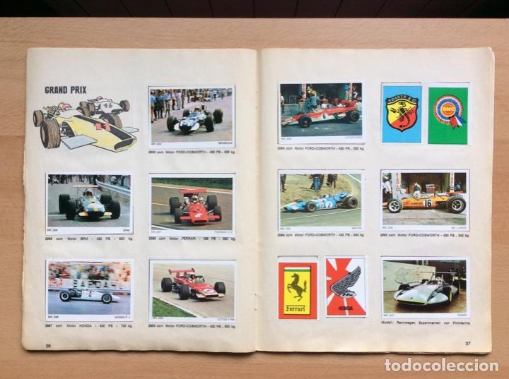 Coleccionismo deportivo: Álbum coches años 60 - míticos Renault R4, R6, R12, Citroen Dyane, Simca 1000, Fiat 500,124 una joya - Foto 16 - 204408606