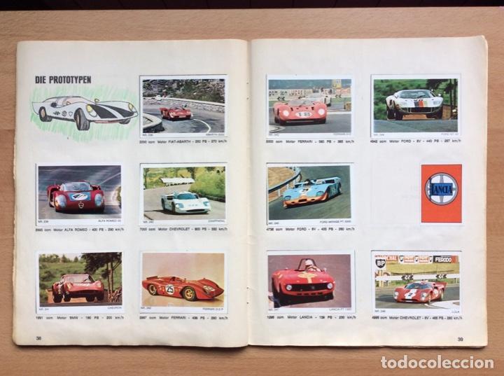 Coleccionismo deportivo: Álbum coches años 60 - míticos Renault R4, R6, R12, Citroen Dyane, Simca 1000, Fiat 500,124 una joya - Foto 17 - 204408606