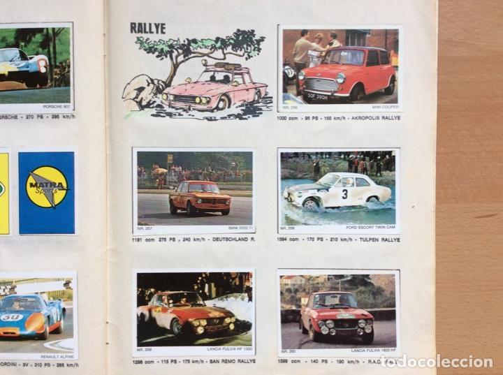 Coleccionismo deportivo: Álbum coches años 60 - míticos Renault R4, R6, R12, Citroen Dyane, Simca 1000, Fiat 500,124 una joya - Foto 18 - 204408606
