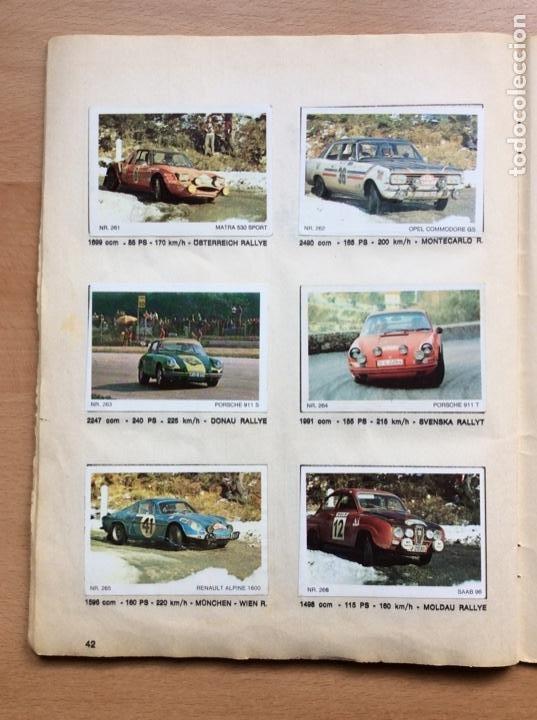 Coleccionismo deportivo: Álbum coches años 60 - míticos Renault R4, R6, R12, Citroen Dyane, Simca 1000, Fiat 500,124 una joya - Foto 19 - 204408606