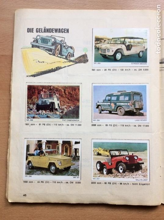 Coleccionismo deportivo: Álbum coches años 60 - míticos Renault R4, R6, R12, Citroen Dyane, Simca 1000, Fiat 500,124 una joya - Foto 21 - 204408606