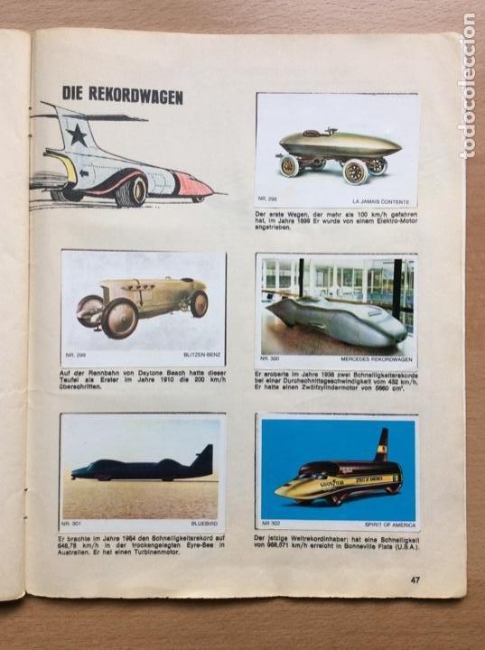 Coleccionismo deportivo: Álbum coches años 60 - míticos Renault R4, R6, R12, Citroen Dyane, Simca 1000, Fiat 500,124 una joya - Foto 22 - 204408606