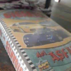 Coleccionismo deportivo: COLECCIÓN COMPLETA GIGANTES DEL ASFALTO + ALBUM. Lote 204412748