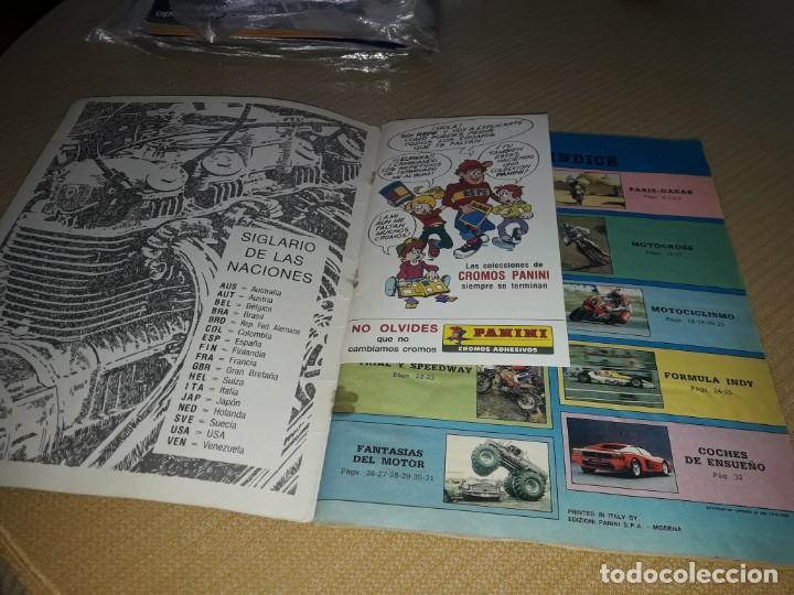 Coleccionismo deportivo: ALBUM MOTOR DE PANINI AÑO 87 COMPLETO - Foto 2 - 204666861
