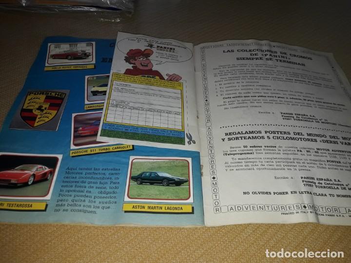 Coleccionismo deportivo: ALBUM MOTOR DE PANINI AÑO 87 COMPLETO - Foto 4 - 204666861