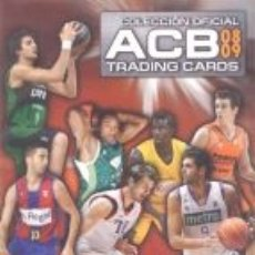 Coleccionismo deportivo: ÁLBUM ACB 2008-2009. VACIO. Lote 204710713