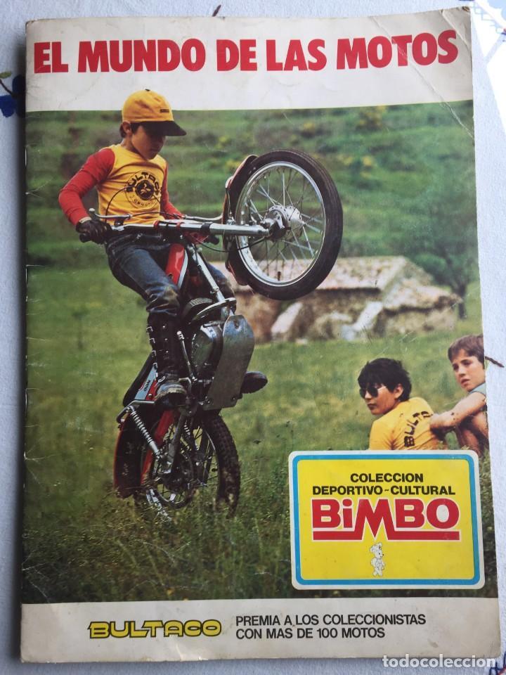 EL MUNDO DE LAS MOTOS BIMBO (Coleccionismo Deportivo - Álbumes otros Deportes)