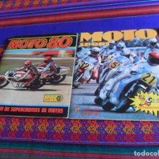 Coleccionismo deportivo: MOTO SPORT COMPLETO. PANINI 1980. REGALO MOTO 80 INCOMPLETO. ESTE 1980. MUY BUEN ESTADO.. Lote 205264680