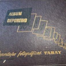 Coleccionismo deportivo: ALBUM DEPORTIVO TABAY COMPLETO. Lote 205468897