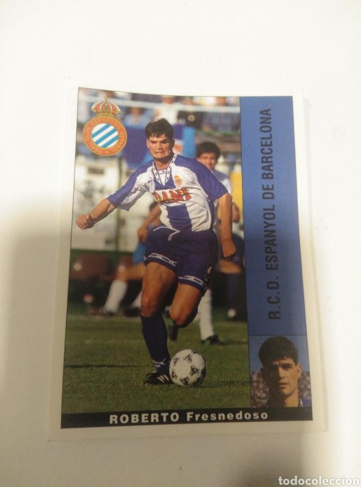 CROMO PANINI LIGA 95 96 BAJA ROBERTO ESPANYOL SIN PEGAR (Coleccionismo Deportivo - Álbumes otros Deportes)