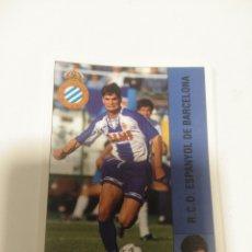 Coleccionismo deportivo: CROMO PANINI LIGA 95 96 BAJA ROBERTO ESPANYOL SIN PEGAR. Lote 205752725