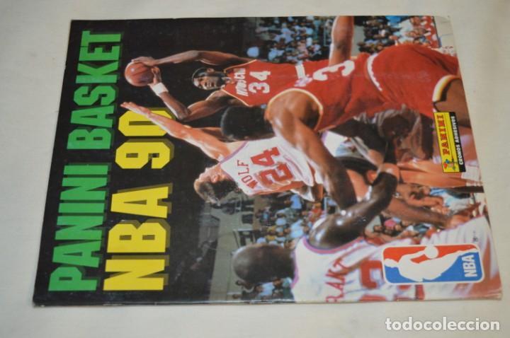 Coleccionismo deportivo: PANINI BASKET / NBA 90 - Buen estado, casi completo / Solo faltan 3 cromos (82, 91 y 190) ¡Mira! - Foto 2 - 205780841