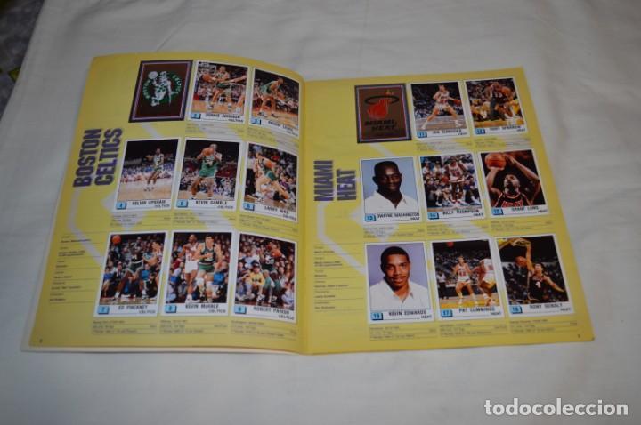 Coleccionismo deportivo: PANINI BASKET / NBA 90 - Buen estado, casi completo / Solo faltan 3 cromos (82, 91 y 190) ¡Mira! - Foto 4 - 205780841