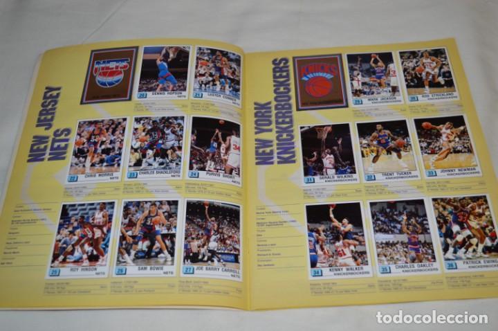 Coleccionismo deportivo: PANINI BASKET / NBA 90 - Buen estado, casi completo / Solo faltan 3 cromos (82, 91 y 190) ¡Mira! - Foto 5 - 205780841