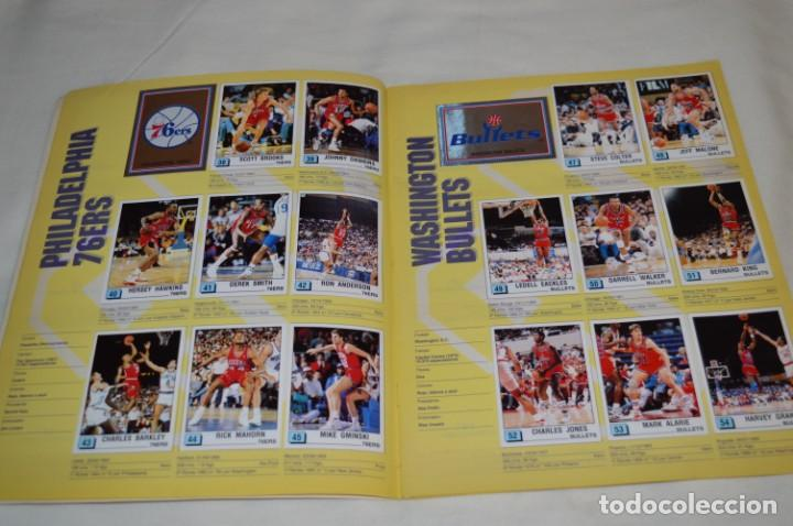 Coleccionismo deportivo: PANINI BASKET / NBA 90 - Buen estado, casi completo / Solo faltan 3 cromos (82, 91 y 190) ¡Mira! - Foto 6 - 205780841