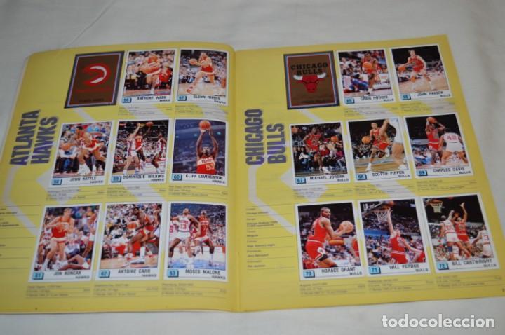 Coleccionismo deportivo: PANINI BASKET / NBA 90 - Buen estado, casi completo / Solo faltan 3 cromos (82, 91 y 190) ¡Mira! - Foto 7 - 205780841