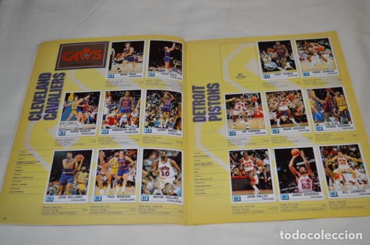 Coleccionismo deportivo: PANINI BASKET / NBA 90 - Buen estado, casi completo / Solo faltan 3 cromos (82, 91 y 190) ¡Mira! - Foto 8 - 205780841