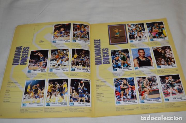 Coleccionismo deportivo: PANINI BASKET / NBA 90 - Buen estado, casi completo / Solo faltan 3 cromos (82, 91 y 190) ¡Mira! - Foto 9 - 205780841