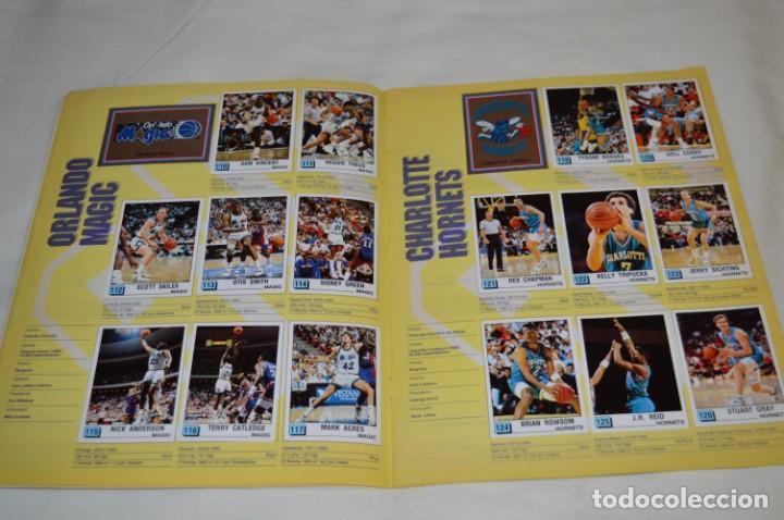 Coleccionismo deportivo: PANINI BASKET / NBA 90 - Buen estado, casi completo / Solo faltan 3 cromos (82, 91 y 190) ¡Mira! - Foto 10 - 205780841