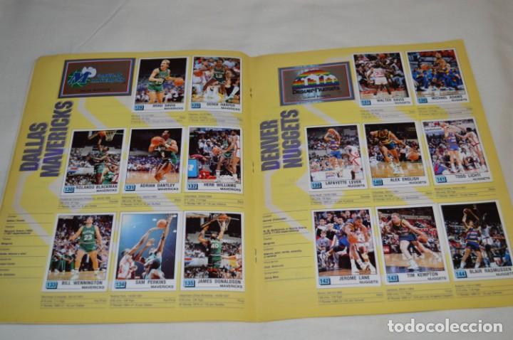 Coleccionismo deportivo: PANINI BASKET / NBA 90 - Buen estado, casi completo / Solo faltan 3 cromos (82, 91 y 190) ¡Mira! - Foto 11 - 205780841