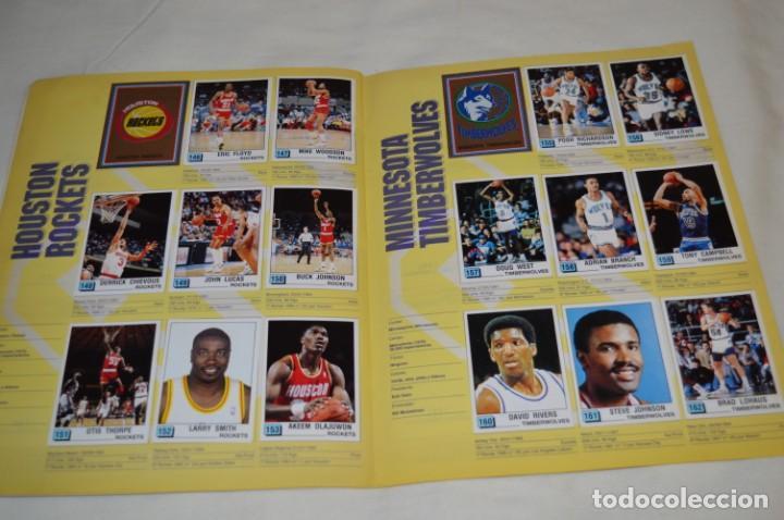 Coleccionismo deportivo: PANINI BASKET / NBA 90 - Buen estado, casi completo / Solo faltan 3 cromos (82, 91 y 190) ¡Mira! - Foto 12 - 205780841