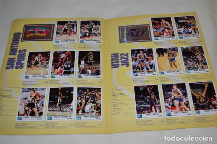 Coleccionismo deportivo: PANINI BASKET / NBA 90 - Buen estado, casi completo / Solo faltan 3 cromos (82, 91 y 190) ¡Mira! - Foto 13 - 205780841
