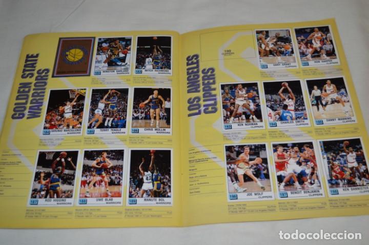 Coleccionismo deportivo: PANINI BASKET / NBA 90 - Buen estado, casi completo / Solo faltan 3 cromos (82, 91 y 190) ¡Mira! - Foto 14 - 205780841