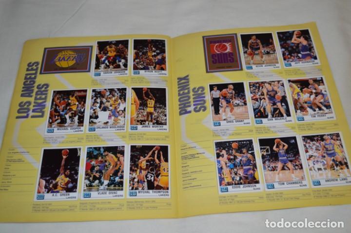 Coleccionismo deportivo: PANINI BASKET / NBA 90 - Buen estado, casi completo / Solo faltan 3 cromos (82, 91 y 190) ¡Mira! - Foto 15 - 205780841