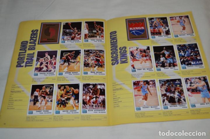Coleccionismo deportivo: PANINI BASKET / NBA 90 - Buen estado, casi completo / Solo faltan 3 cromos (82, 91 y 190) ¡Mira! - Foto 16 - 205780841