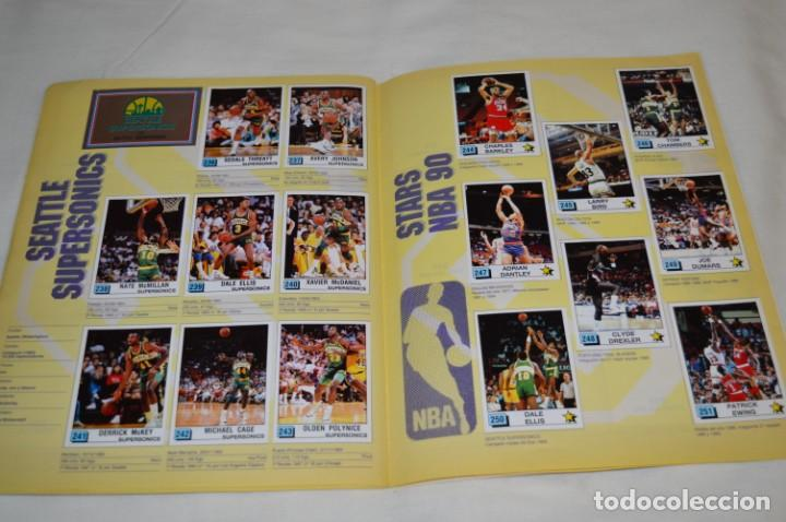 Coleccionismo deportivo: PANINI BASKET / NBA 90 - Buen estado, casi completo / Solo faltan 3 cromos (82, 91 y 190) ¡Mira! - Foto 17 - 205780841