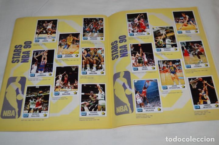 Coleccionismo deportivo: PANINI BASKET / NBA 90 - Buen estado, casi completo / Solo faltan 3 cromos (82, 91 y 190) ¡Mira! - Foto 18 - 205780841
