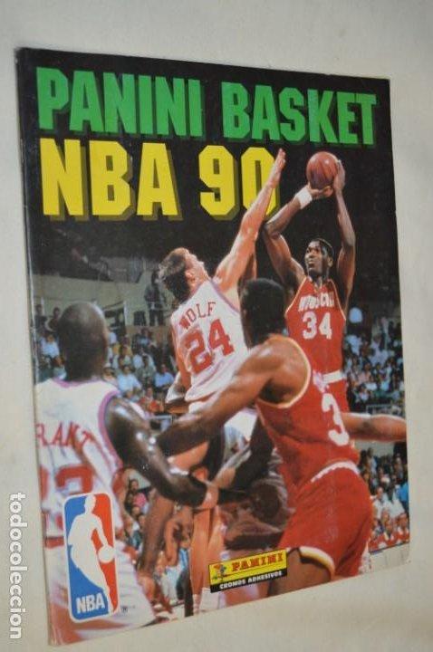PANINI BASKET / NBA 90 - BUEN ESTADO, CASI COMPLETO / SOLO FALTAN 3 CROMOS (82, 91 Y 190) ¡MIRA! (Coleccionismo Deportivo - Álbumes otros Deportes)