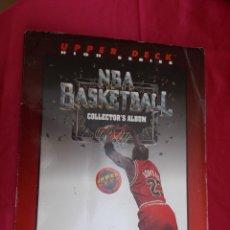 Coleccionismo deportivo: ALBUM DE CROMOS INCOMPLETO. NBA BASKETBALL . COLLECTOR'S ALBUM CON 187 CROMOS. Lote 205812282