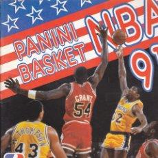 Coleccionismo deportivo: ALBUM COMPLETO PANINI BASKET NBA 91. Lote 205822725