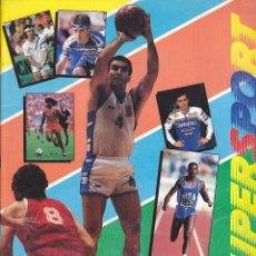 Coleccionismo deportivo: ALBUM COMPLETO PANINI SUPER SPORT. Lote 205823093
