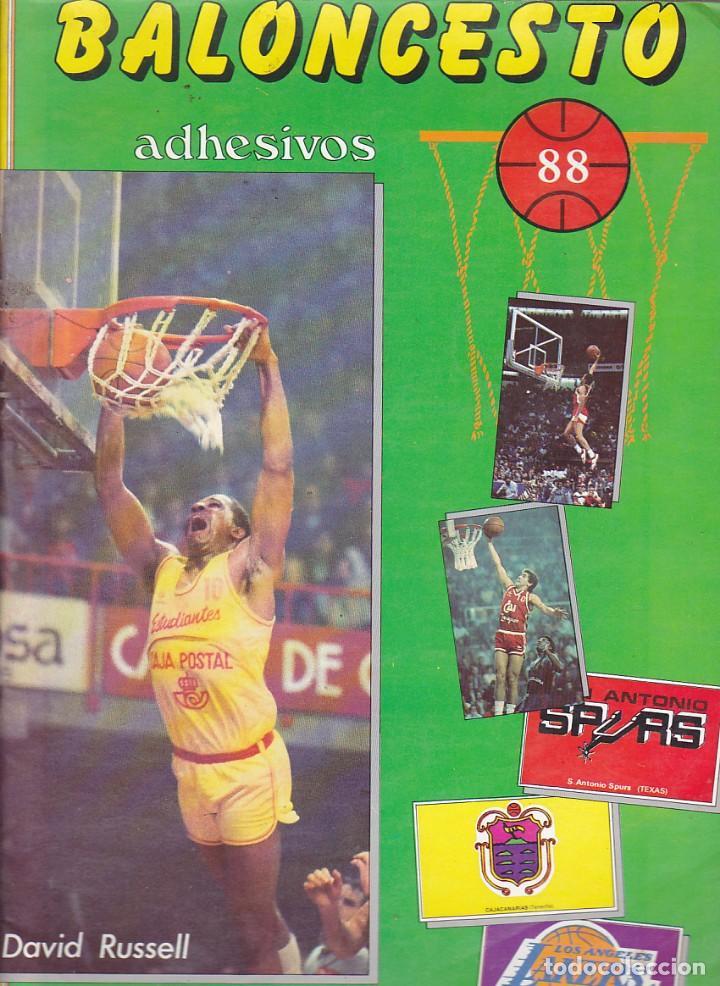 ALBUM COMPLETO BALONCESTO 88 MARCHANTE (Coleccionismo Deportivo - Álbumes otros Deportes)