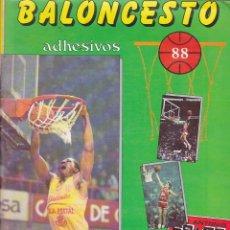 Coleccionismo deportivo: ALBUM COMPLETO BALONCESTO 88 MARCHANTE. Lote 205823208