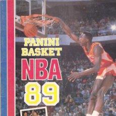Coleccionismo deportivo: ALBUM COMPLETO PANINI BASKET NBA 89. Lote 205823782