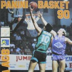 Coleccionismo deportivo: BALONCESTO-PANINI BASKET 90-LIGA ACB-ALBUM VACIO-PANINI-VER FOTOS-(V-20.292). Lote 206364235
