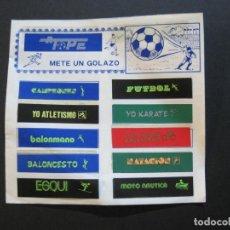 Coleccionismo deportivo: A TOPE METE UN GOLAZO-ALBUM DE CROMOS COMPLETO-VER FOTOS-(V-20.300). Lote 206374517